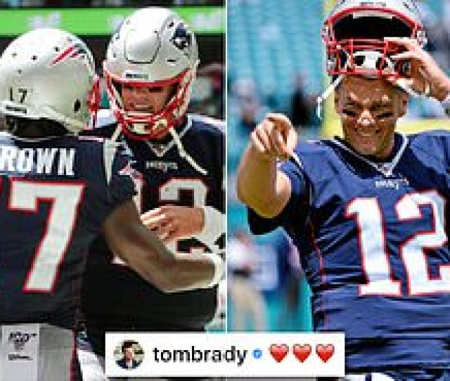 Tom Brady Shows Support For Disgraced Former Teammate Antonio