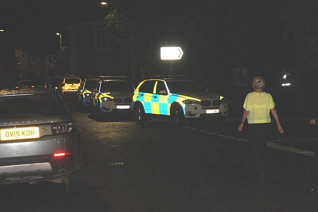 Armed police closed off part of the small Perthshire village of Dunning last night after receiving reports that a 16-year-old girl was being held hostage in a house