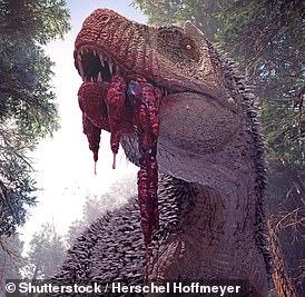 An artist's impression of T.Rex