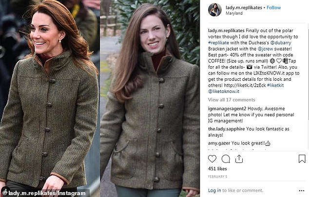'I've visited the UK several times and have been to Kensington Palace hoping to catch a glimpse of Kate, but sadly I haven't yet. That's the dream'