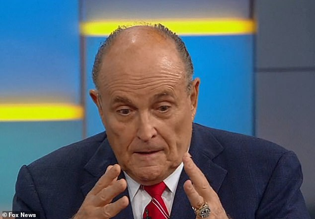 Donald Trump's personal lawyer Rudy Giuliani insisted: 'It is impossible that the whistle-blower is a hero and I'm not. And I will be the hero! These morons—when this is over, I will be the hero'