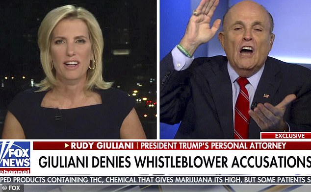 Rudy Giuliani reiterated previous claims that the State Department asked him to reach out to Ukraine to inquire about Ukrainian investigations, including into Joe and Hunter Biden
