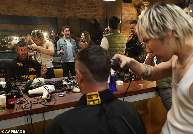 Dr Follicles is offering free Dustin Martin haircuts to die-hard Tigers fans after the star player's performance at the AFL Grand Final