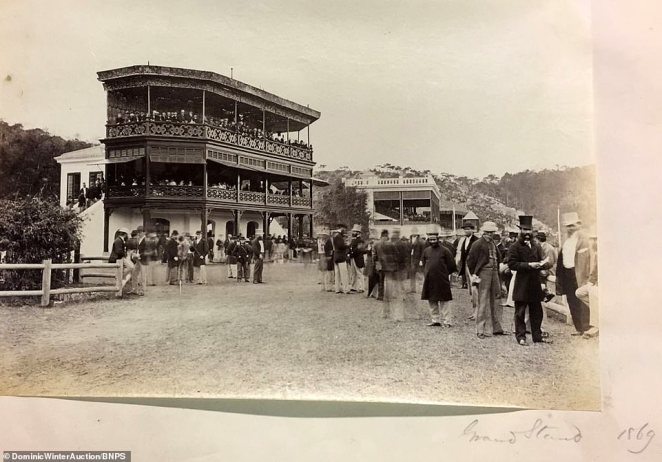 Happy Valley race course was some way from the built up areas of Hong Kong Island.It was first built in 1845 to provide horse racing for the British people in Hong Kong. The area was previously swampland, but the only flat ground suitable for horse racing on Hong Kong Island