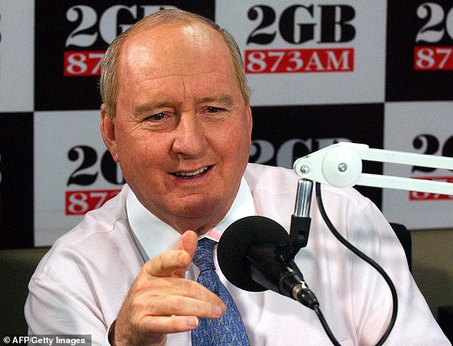 Alan Jones continues to draw in the largest ratings despite his controversial sock comments against New Zealand prime minister Jacinda Ardern