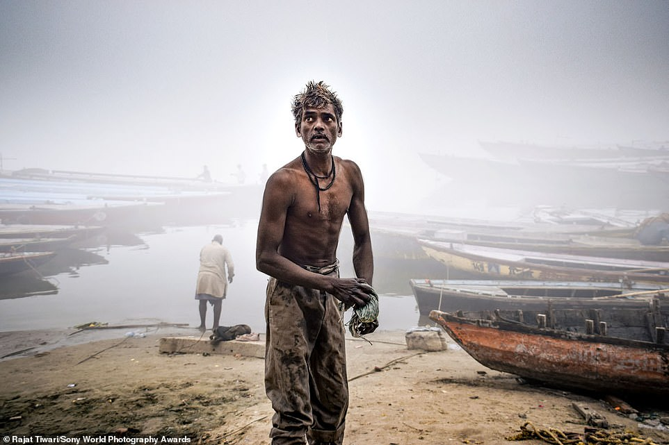 Past Sony World Photography Awards winners have gone on to secure gallery representation, publishing deals and widespread press coverage. Pictured is an entry for the 2020 open competition by Indian photographerRajat Tiwari. It was taken in the Indian city of Varanasi and is competing in the portraiture category