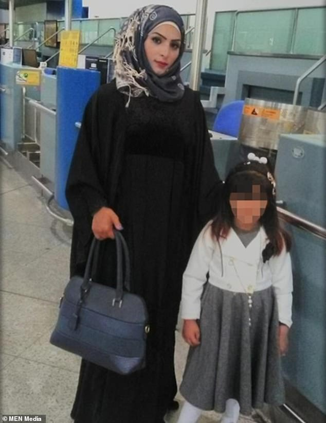 Ms Al-Anizi, 26, was reported missing alongside her daughter, aged six, but the child was later found