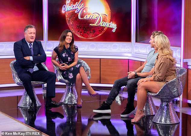 The TV presenter also revealed that that she thought 'fake' used to be an insult, but now it's a badge of honour, with hair extensions, tans and nails all artificial, but looking fabulous