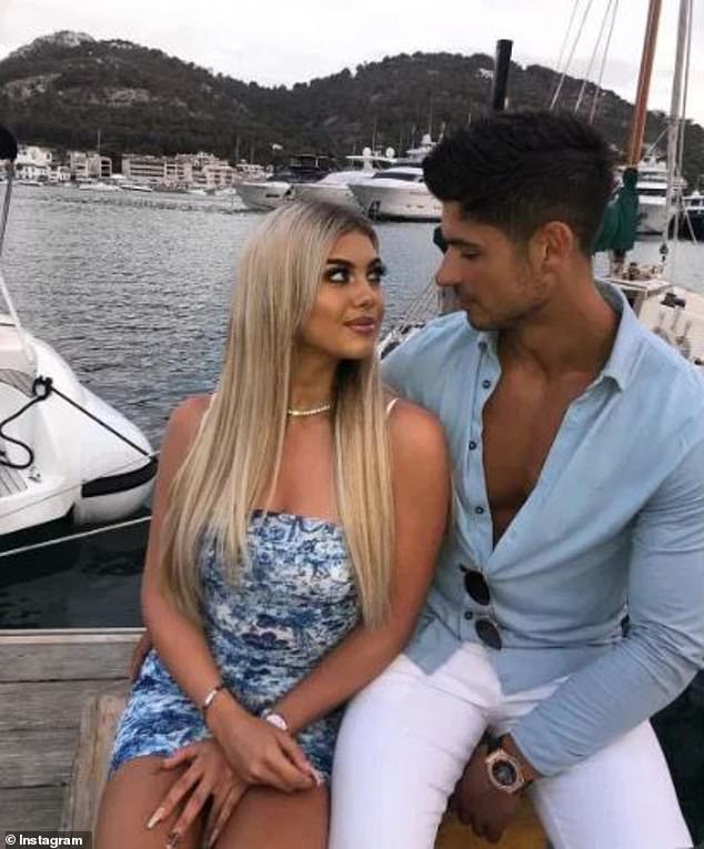 Split:It was reported that Anton and Belle called it quits just five weeks in the villa, despite vowing to stay together after narrowly missing out on a place in the final