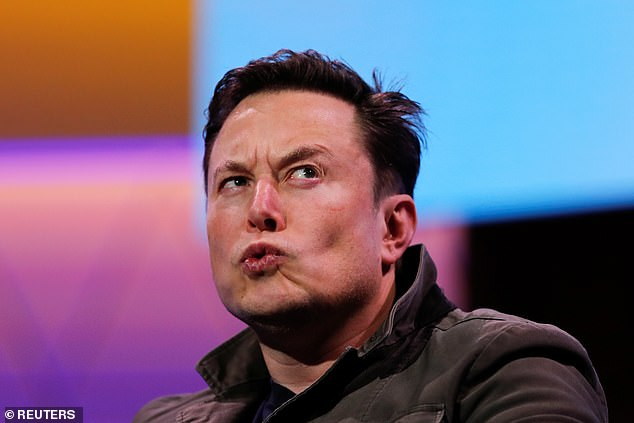 Money well squandered:Elon Musk (above in June) hired a man named James Howard-Higgins to look into the past of Veron Unworth, the man who sued him for defamation