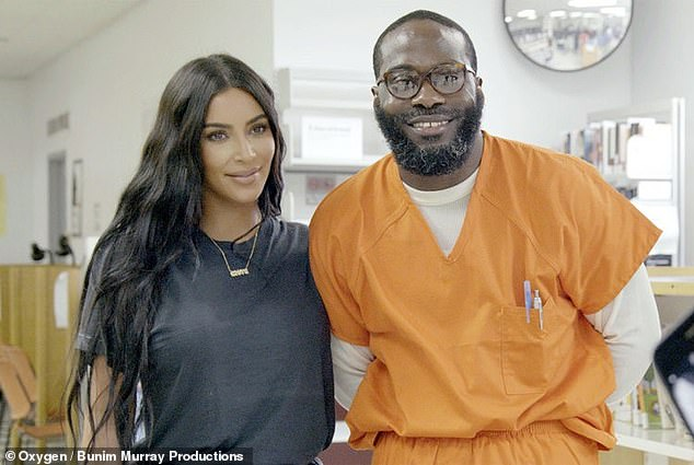 A judge has reduced the life sentence of Momolu Stewart (pictured with Kim Kardashian in July), 39, who was convicted of murder in 1999 at the age of 16
