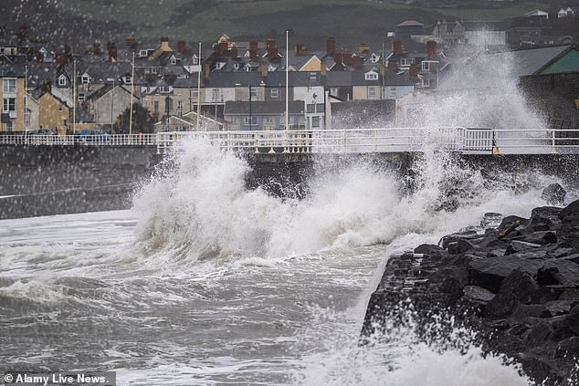 The freelance press and wedding photographer, who took this image of Aberystwyth promenade in March this year, is a regular contributor to radio and television programmes