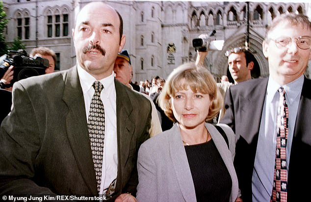 As the public health chief for North West England in the 1980s and 1990s, Prof Ashton got the anti-smoking message across with the aid of Liverpool FC and goalkeeper Bruce Grobbelaar (pictured left with his wife Debbie)