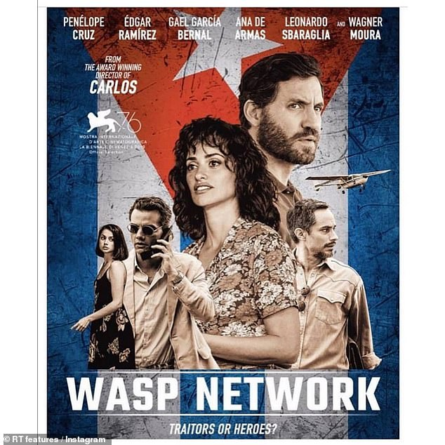 True story:Wasp Network tells the true story of the Cuban Five, a group of Cuban intelligence officers who were arrested in September of 1998 and convicted of a string of serious crimes