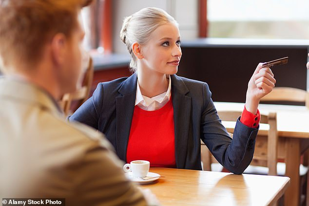 The financial adviser says excessive spending on dates should be a red flag, as the wealthy tend to be the more cautious spenders (Stock image)