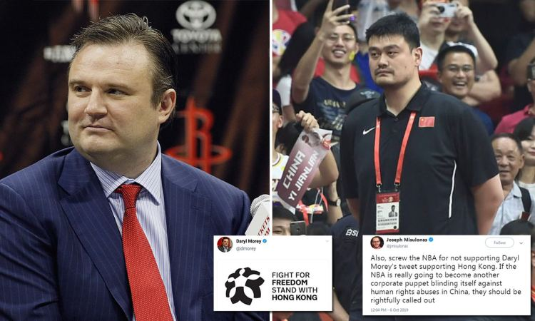 Image result for daryl morey tweet