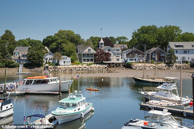 Stock image of Kennebunkport, a port in Maine 12 miles from where the 14-foot boat was said to have capsized