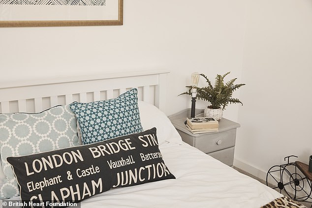 The young professionals also sought help from interior designer Lynne Lambourne, who upcycled some existing furniture with a simple lick of chalk paint, giving them a brand new look