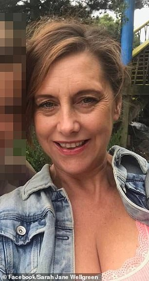 Ben Lacomba is accused of murdering his ex Sarah Wellgreen (pictured) after she got a new job