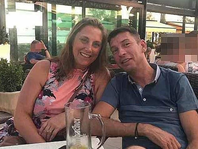 The court heard Lacomba claimed Ms Wellgreen's new boyfriendNeil James (pictured) was 'paranoid' when he first reported her missing