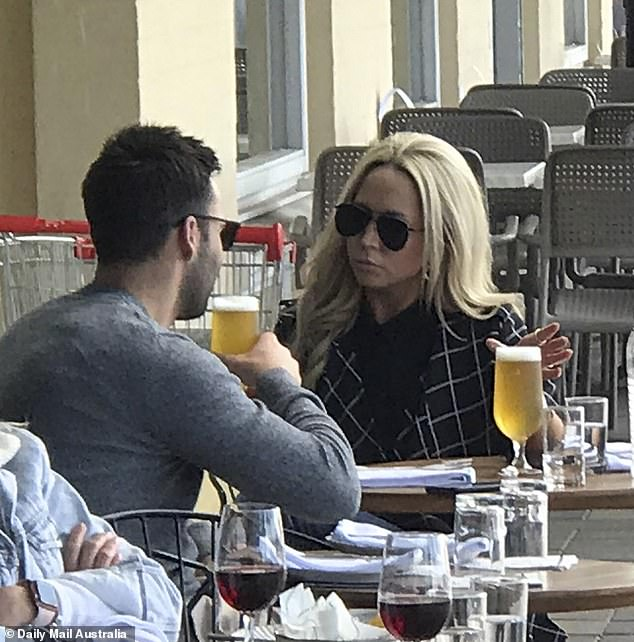 Date! On August 28, the couple were pictured together for the first time enjoying a drink at the Manly Greenhouse on Sydney's Northern Beaches