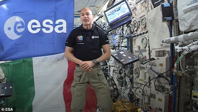 Italian astronaut Luca Parmitano, who is aboard the International Space Station, released a video to the United Nations calling for swift action to to combat global warming --- stating 'there is absolutely no place like home'