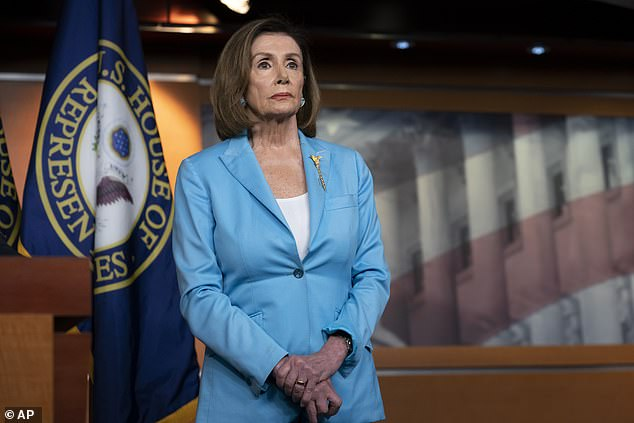 Speaker Nancy Pelosi's office has not yet received a promised letter from Donald Trump