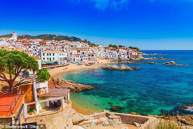 ABTA¿s chief executive Mark Tanzer said the threat of leaving the EU without a deal on October 31 was ¿very damaging to consumer confidence.¿ Pictured, Catalonia in Spain