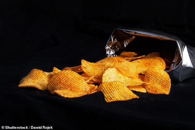 Arsonists can use packets of crisps to help them start fires — with their fat and calories proving a potent accelerant that can set a car seat ablaze in minutes