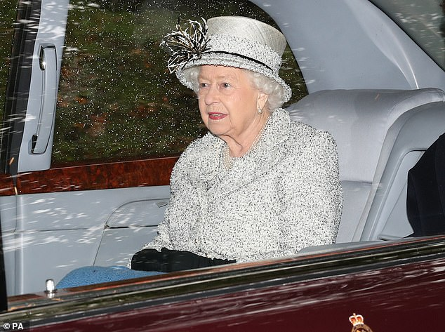 The Labour leader's remarks suggest he believes the Queen, pictured near Balmoral on October 6, would automatically ask him to be PM if Mr Johnson is ousted
