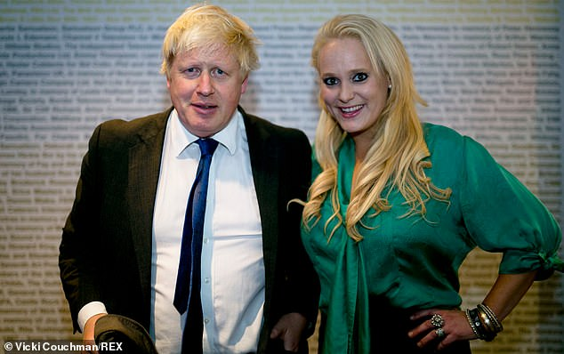 Boris Johnson (pictured with Jennifer Arcuri) could be summoned to give evidence to the London Assembly in person