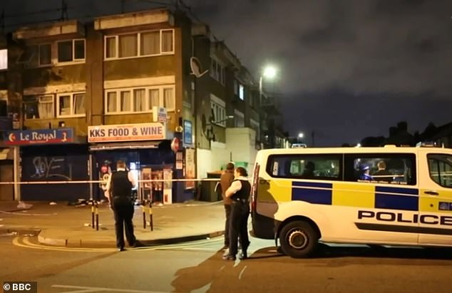 The attack happened after Gadi wandered into the wrong area at the wrong time on 13 July this year (pictured, the crime scene where Gadi was attacked)