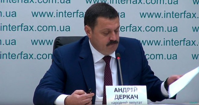 Ukrainian MP Andriy Derkach held a press conference in Kyiv on Wednesday, releasing documents he says show Burisma paid Biden $900,000 in lobbying fees