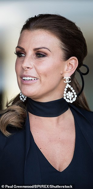 Super sleuth: Coleen Rooney's detective skills have sent the internet wild, with fans rushing to honour her on Wikipedia and call her the 'reincarnation' of Agatha Christie