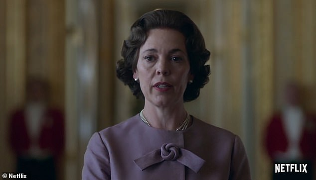 New role:Olivia Colman (pictured) and Tobias Menzies, both 45, have taken over from the pair for the third series of the drama, which is set for release later this year