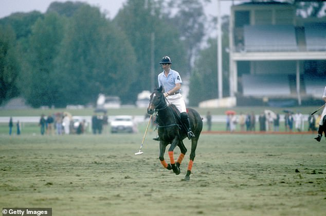 Tour:The scenes are recreating Charles' polo match at Warwick Farm Racecourse near Sydney which took place on April 3, 1983