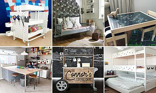 Creative Parents Reveal How Theyve Turned Ikea Furniture