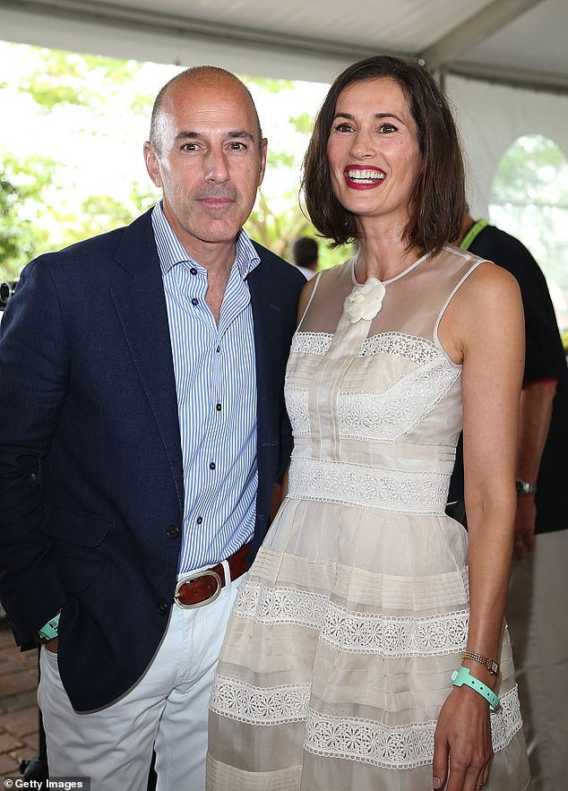 He and his wife Annette Roque (pictured together in 2013) separated in the wake of the allegations and finalized their divorce earlier this month. The couple had been together for over 20 years and share three children. Roque issued a statement through her lawyer,on Wednesday which read: 'In response to your inquiry, our client has asked us to tell you that now that the parties are officially divorced, her priority and only concern is for their wonderful children. Our client will make no further statements'
