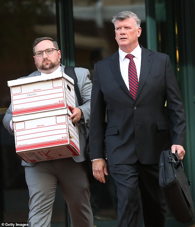 Deja vu: The two Soviet-born Americans have hired Kevin Downing as an attorney. He previously represented Paul Manafort who is now serving seven and a half years in prison and facing another trial in New York under state law