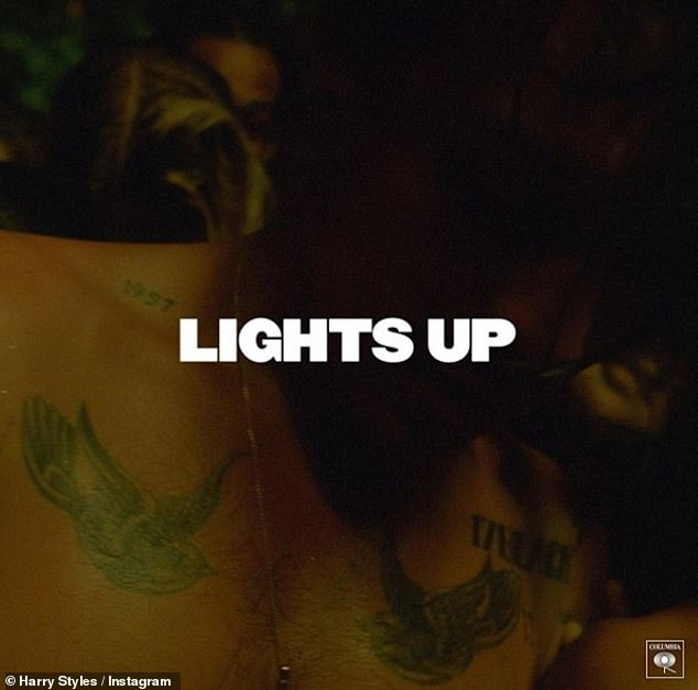 For more: Harry Styles new single Lights Up is out now, and his album will be released soon