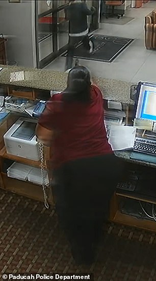 The unnamed female employee