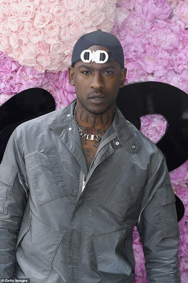 Getting close:The singer apparentlyhelped Skepta, pictured, celebrate his 37th birthday at the Crystal Maze experience in London in September