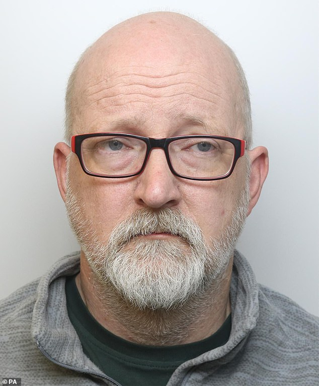 David Pomphret (pictured), 51, has been found guilty by a jury at Liverpool Crown Court of the murder of his wife Ann Marie, 49, who he bludgeoned to death with a crowbar last November 2