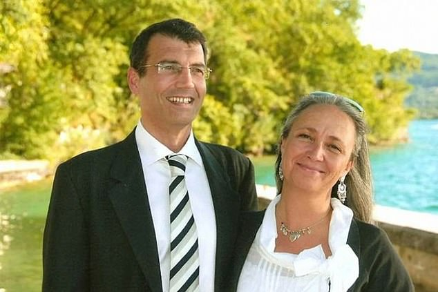 Xavier Dupont de Ligonnes, pictured with Ms. Agnes, 48, was the subject of an international arrest warrant for the 2011 murders in a mystery that pierced France
