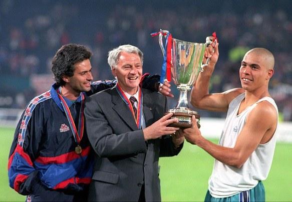 Jose Mourinho ranks Brazilian Ronaldo Nazario above Cristiano ...
