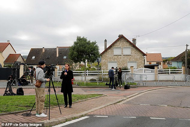 French police searched the home ofGuy Joao in Limay, north west of Paris after Scottish police arrested him in the mistaken belief he was murder suspect Xavier Dupont de Ligonnès