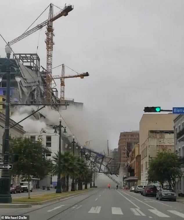 It is not exactly known how the building collapsed. The development was expected to be open in the spring