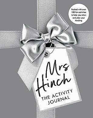 A must for fans of the phenomenon that is Sophie Hinchliffe, aka Mrs Hinch (mantra: a happy and clean home means a calm and stress-free mind). This journal lets you plan your 'Hinching' and provides activity suggestions