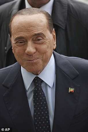 Berlusconi, 83, has denied ever meeting Imane and has always insisted that he has no link with her. 'I never met this person, never talked to her,' he said after her death