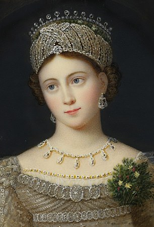 The chequered life of Princess Louise of Saxe-Gotha-Altenburg (pictured) – the mother of Prince Albert – has gripped Fergie: she married twice, had affairs and died aged 30